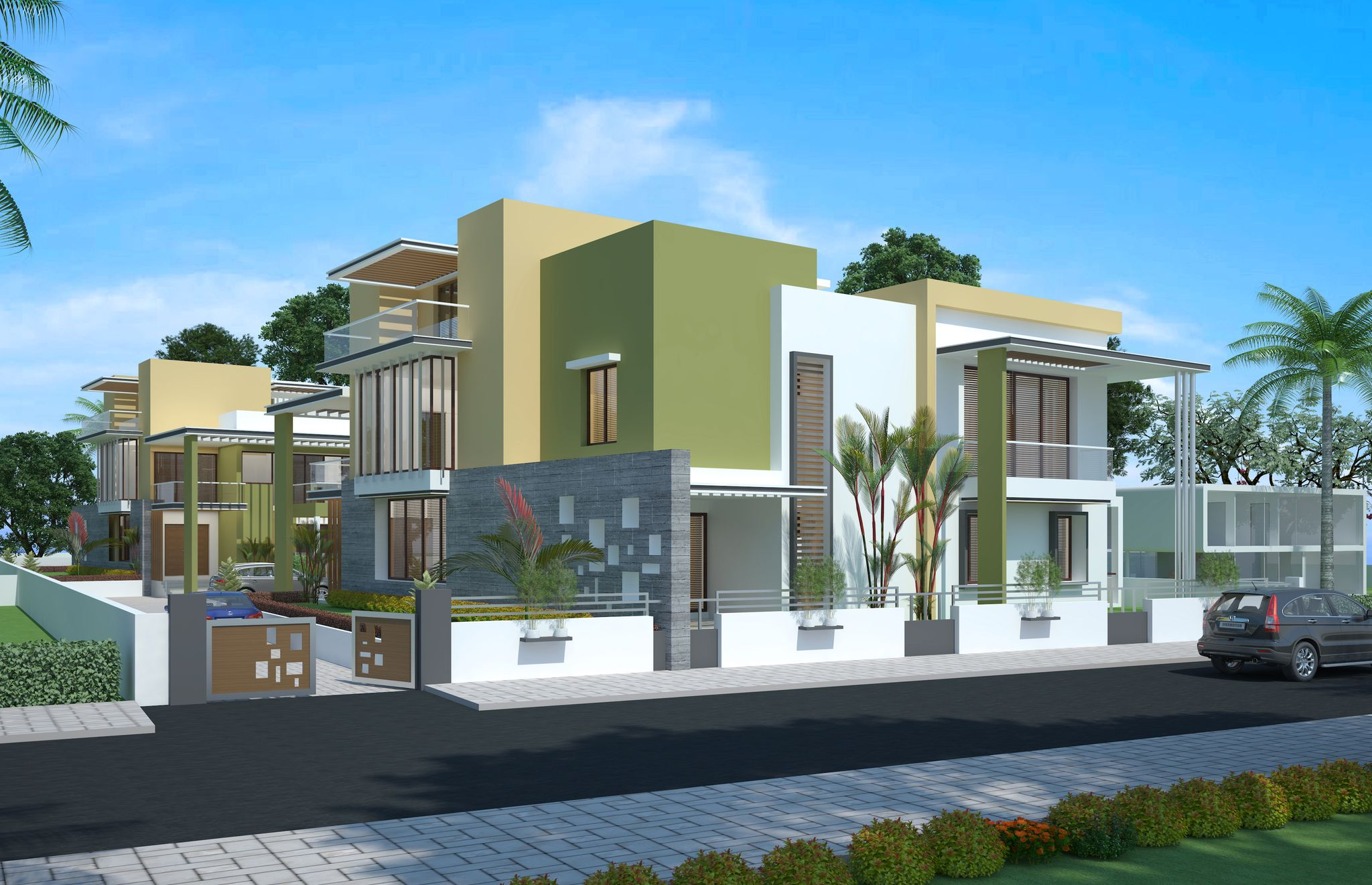 3d architectural visualization services India